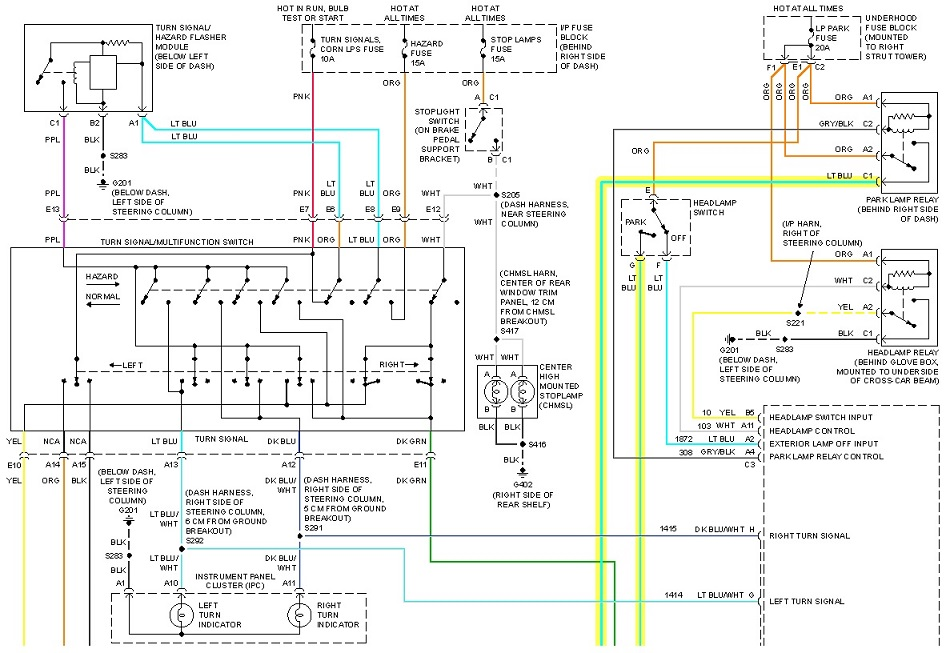buick regal wiring diagram