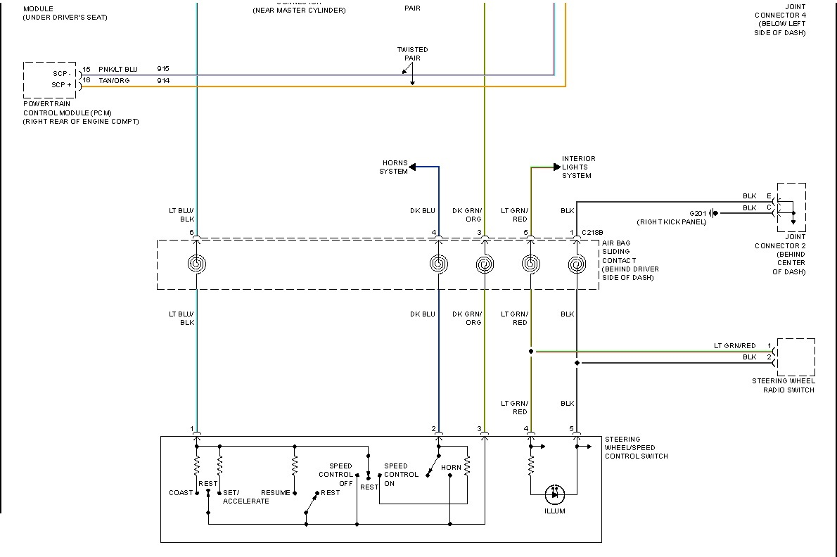 ... Ford Freestar cruise control wiring schematics diagram #2. bottom half  of cruise.jpg