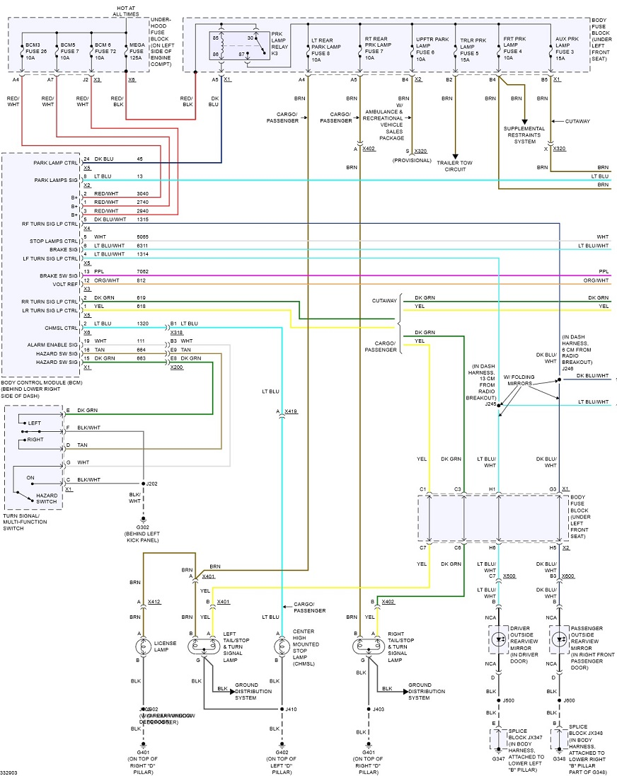 2005 Chevrolet Express Van Wiring Diagram