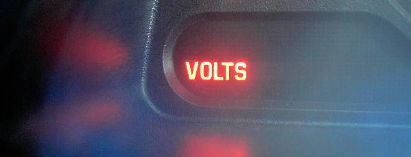 Battery Volts on Buick Century Dash Lights