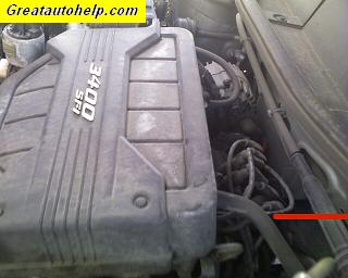 2005 Chevrolet Equinon 3400 V6 common cause for a check engine light scanner code P0171 lean condition.