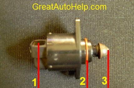 gm idle air contol valve motor description and operation