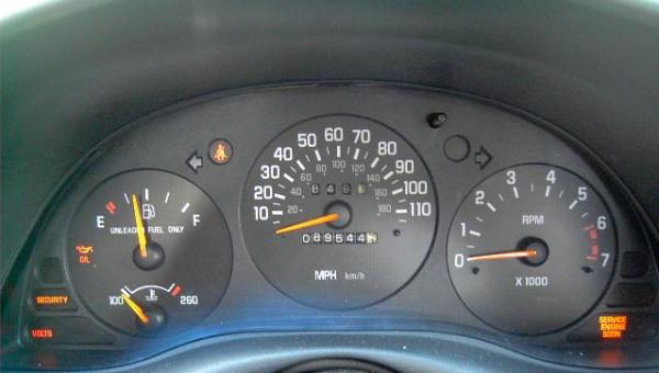 2000 Chevy Cavalier Dashboard Lights