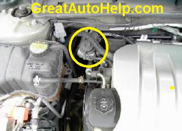 AIR secondary air injection problem repair on 2001 and 2001 Oldsmobile Aurora 3.5L v6 engine.