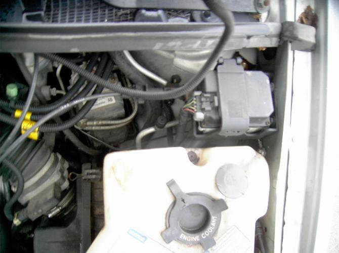 A/C pressure ports for adding freon on 2001 Chevy venture van.