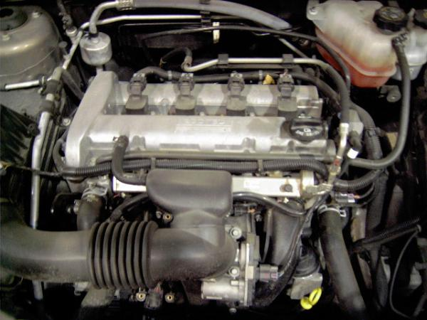 GM 2.2l Ecotec 4 cylinder engine data sensor locations pictures and diagram.