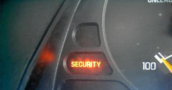 Pictures of dash warning lights theft security security or theft warning light picture on dash of cars and trucks that may come on aloadofball Images
